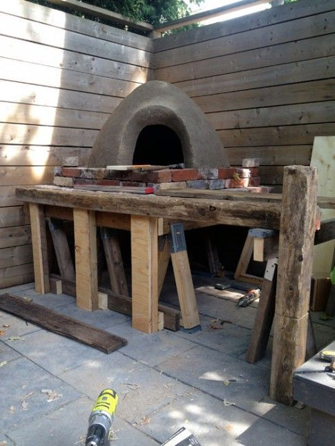 Building my pizza oven!