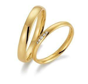 Duo snubního a zásnubního prstenu