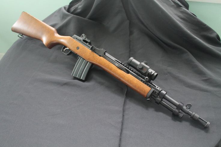 Mini-14 build, no Sage stock but in the M1A vein nonetheless.