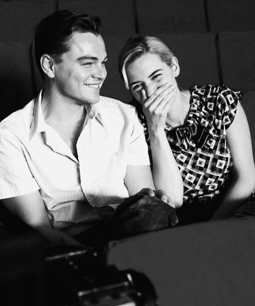Leonardo DeCaprio & Kate Winslet's friendship brings so much joy to my heart. Because her father passed away, Leonardo walked her down the isle and passed her on to her husband. So sweet!