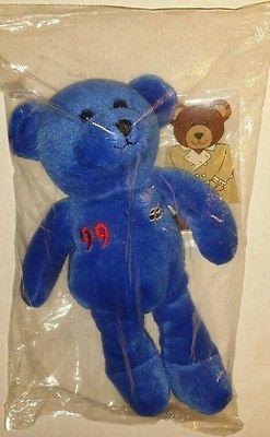 Wayne Gretzky 99 Famous Legends Sports Heroes Flash Beanie plush Bear