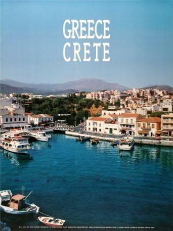 GREECE 1992. CRETE. (ΑΓΙΟΣ ΝΙΚΟΛΑΟΣ). Σχεδιαστής σύνθεσης ο Μ. Μανδρέκας.