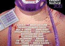 Plisskën Festival 2013 Full Line Up Poster