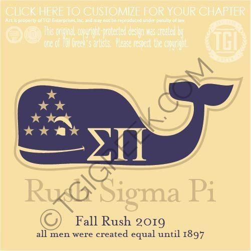 Sigma Pi-ASU fall rush | Fraternity PR | Design Library | TGI Greek