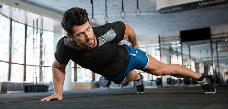 Breite Brust, fester Bauch und starke Arme, ohne massig Übungen durchzuziehen?! Dafür sind diese harten Liegestütz Variationen genau richtig!