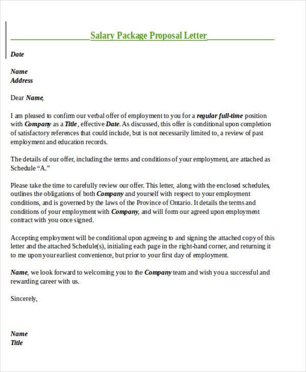 Sample Templates Sample Salary Proposal Letter 8 Examples In Pdf Word 31d8060c Resumesamp Proposal Letter Business Proposal Letter Writing A Business Proposal