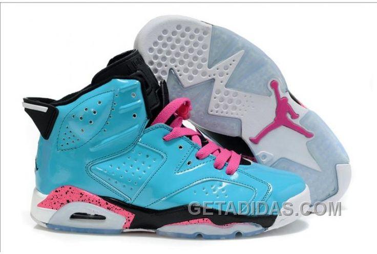 https://www.getadidas.com/air-jordan-6-blue-pink-black-authentique.html AIR JORDAN 6 BLUE PINK BLACK AUTHENTIQUE Only $75.00 , Free Shipping!