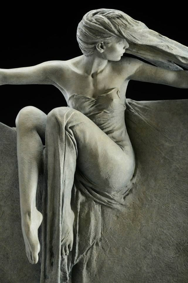 "Love love love, this BEAUTIFUL sculpture, ""Grace"" by Michael Talbot Sculptor xo"