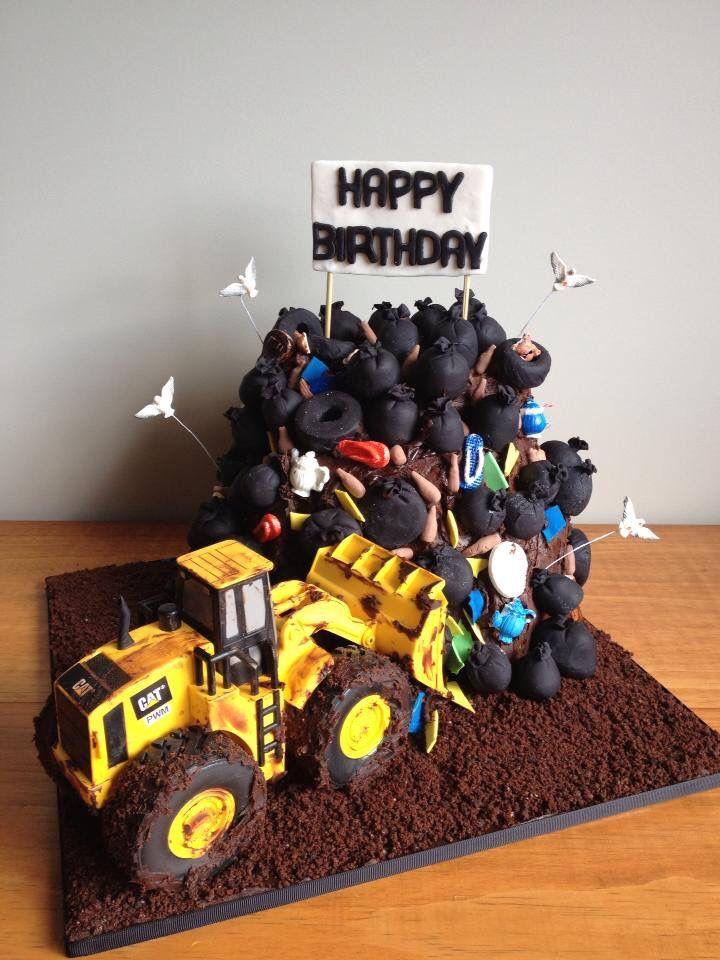 Rubbish Tip cake