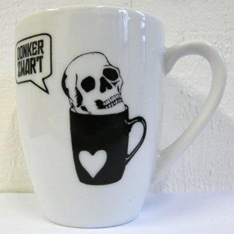 'Donker Zwart' cup