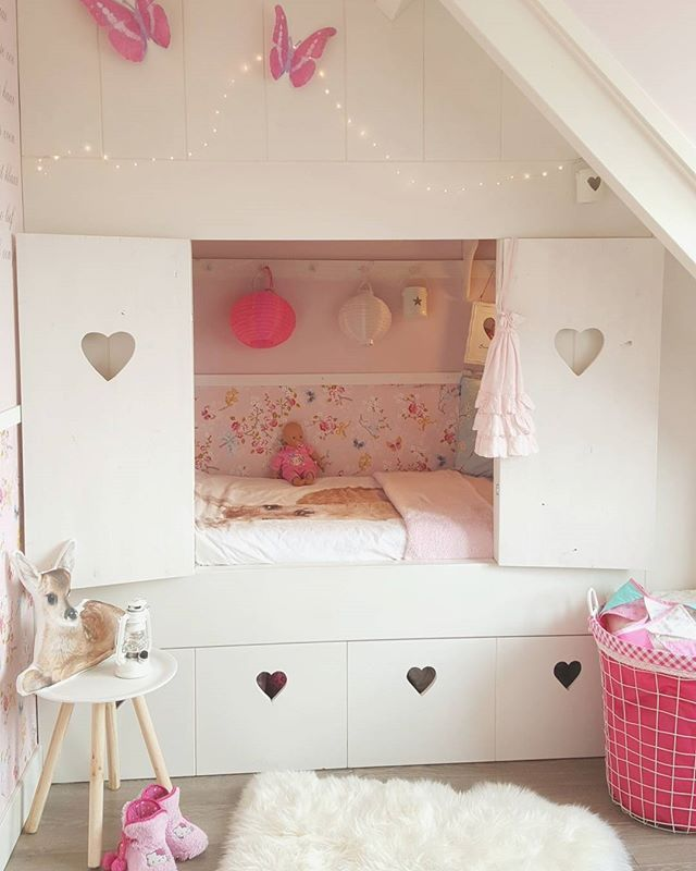 I 'm in LVE with my daughter her bed... now with the shutters! Enjoy your…
