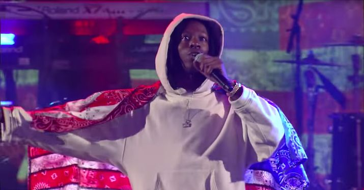 Joey Badass Believes Rap Is In A 'Very Trash State' Right Now  Seems as if Joey Badass is not satisfied with the current climate of rap music. READ: Brooklyn's Own Joey Bada$$ Is Starting A Podcast Called '47... http://drwong.live/music/joey-badass-rap-very-trash-state-right-now-twitter-html/