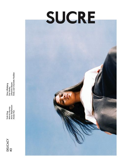 sucre-paper: The front cover of Sucre Paper #3 was shot by Aimée Han, an amazing photographer based in New York. http://cavaan.blogspot.com/ The theme of this issue is Delicacy.
