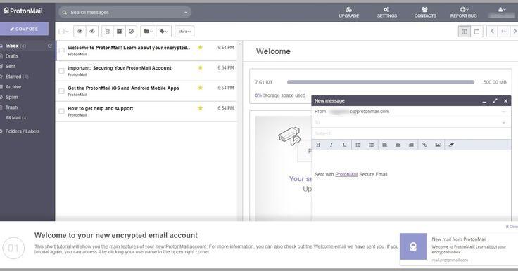 Το ProtonMail είναι μία διαδικτυακή υπηρεσία που σας δίνει τη δυνατότητα να στείλετε και να λάβετε κρυπτογραφημένα μηνύματα στον υπολογιστή και στο κινητό σας το οποίο καθιστά σχεδόν αδύνατο για οποιονδήποτε να το διαβάσει εκτός από τον αποστολέα και τον παραλήπτη. Είναι ίσως η καλύτερη υπηρεσία κρυπτογράφησης ηλεκτρονικού ταχυδρομείου στον κόσμο με πάνω από 2 εκατομμύρια χρήστες.  Παρέχει ένα σύγχρονο περιβάλλον εργασίας χρήστη με μια πλήρη σειρά από καινοτόμα χαρακτηριστικά όπως τη…