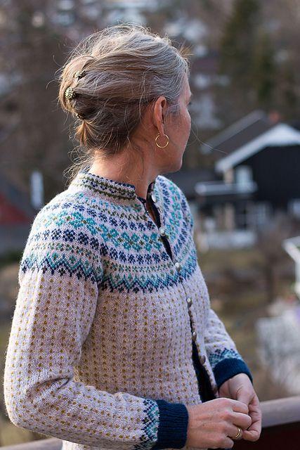 Ravelry: Karminkoften cardigan pattern by Wenche Roald