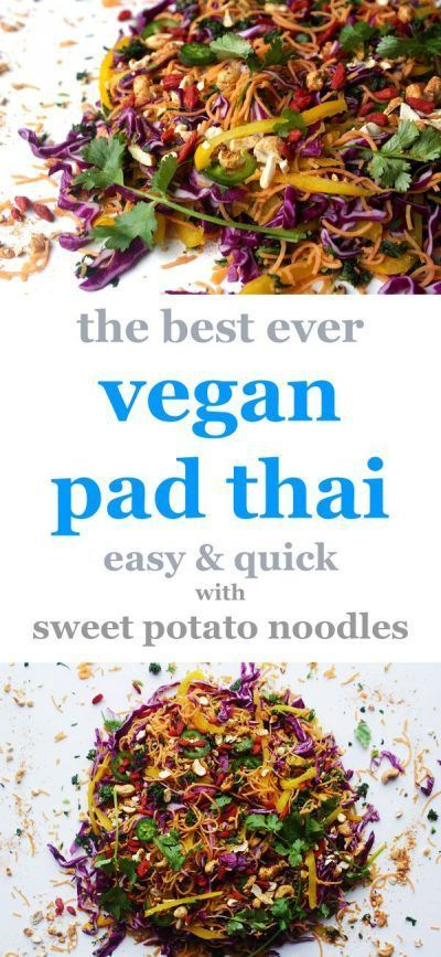 The Best Ever Vegan Pad Thai -