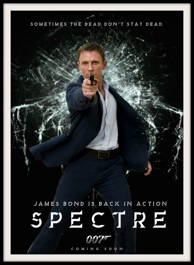 James bond spectre movie poster jamesbond 007 bond24 for Movie photos for sale