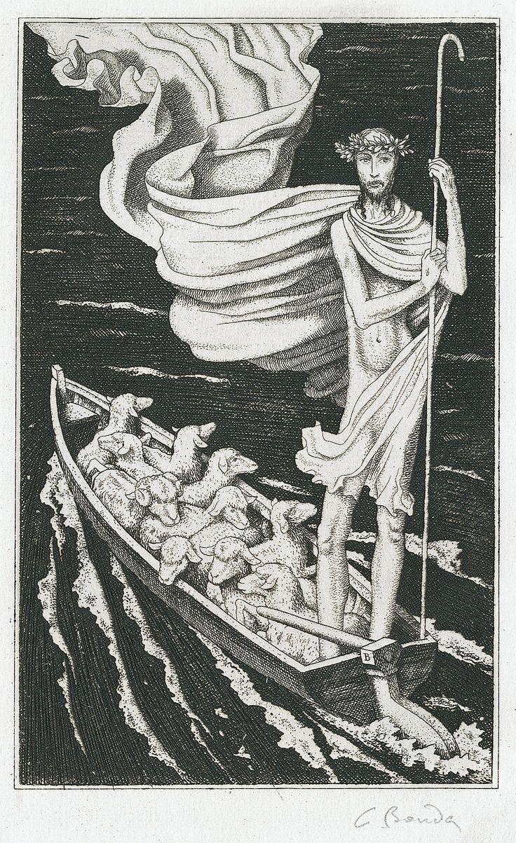 Cyril Bouda: Pastor bonus (The Good Shepherd), 1926