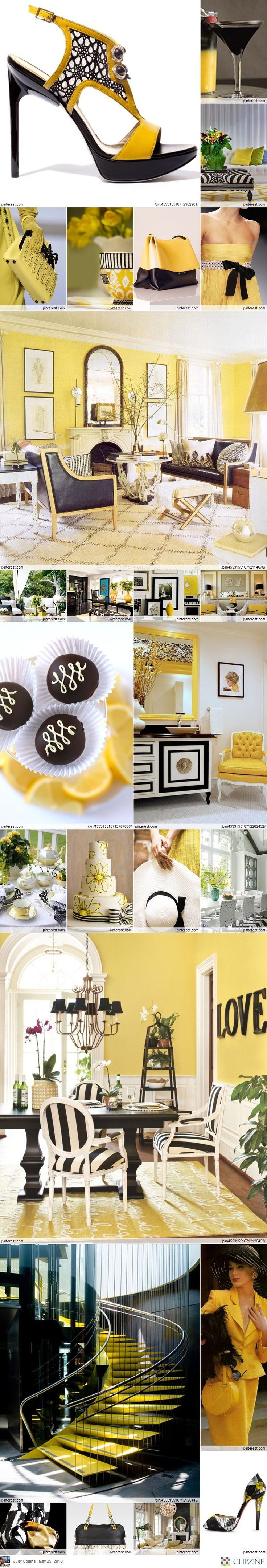 105 best black, yellow and white images on Pinterest | Bedrooms ...