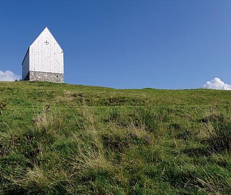 Bergkapelle by cukrowicz nachbaur architekten, Austria