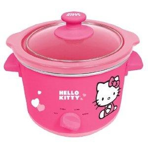New Hello Kitty Slow Cooker ~ shipping includedCrock Pots, Rain Hot Coupon, Kitty Slow, Kitchens Appliances, Slowcooker, Hello Kitty Kitchens, Pink, Hellokitty, Slow Cooker