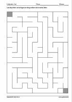 100 labyrinter - 12x16