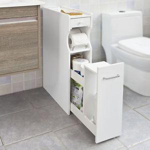 SoBuy-mueble-de-bano-portarrollos-de-papel-higienico-deslice-hacia-afuera-Rack-FRG50-W-Reino-Unido