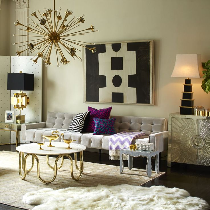 Sophisticated Modern Interior By Jonathan Adler