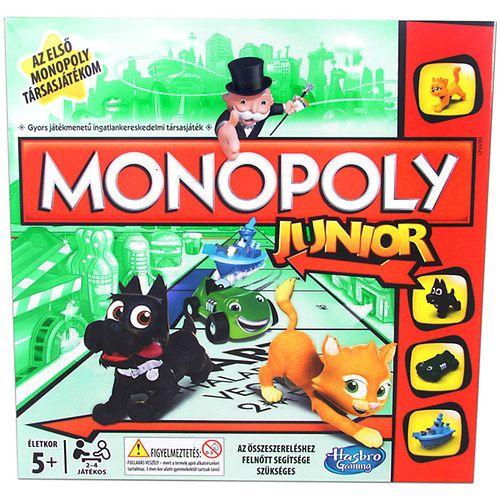 Hasbro: Monopoly Junior - új kiadás | shopline