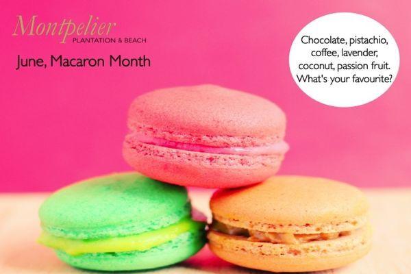 June, #Macaron Month  #Nevis