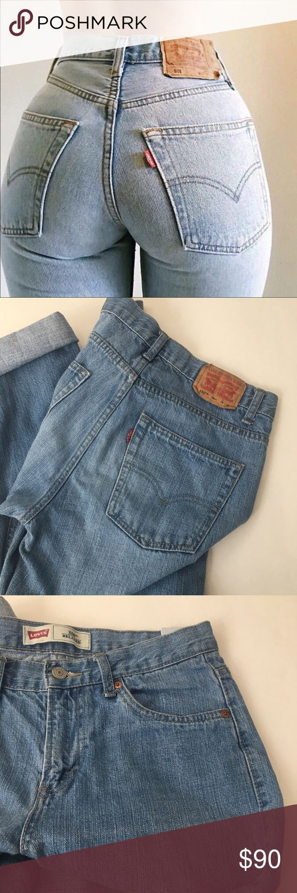 """Gorgeous Light Wash Levi's High Waisted Jeans Price is firm please  Amazing Levi's 550 Vintage Mom Jeans  High waisted and make your butt look amazing  Perfect light blue color  No stains or damages whatsoever  Please see measurements for fit Rise 10""""  Waist 29""""  Length unrolled 29""""  ⭐️Top rated seller   All items shipped same day/ next day Urban Outfitters Jeans"""