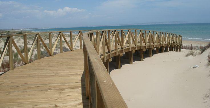 Pasarelas elevadas - Incofusta fabrica de madera en Valencia