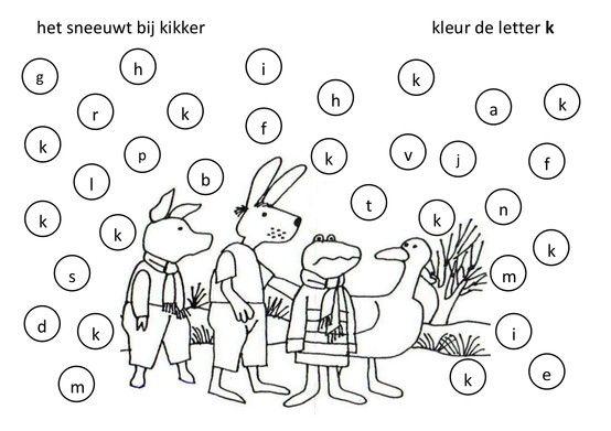 Werkblad geletterdheid: Kikker in de Kou
