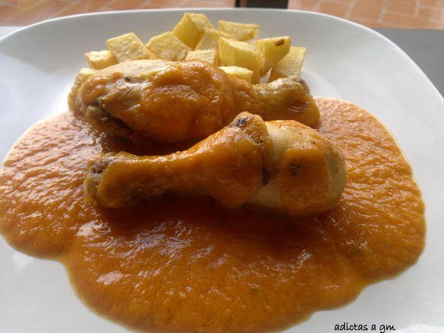 Vanessa Ollas GM, Recetas en Ollas GM (Adictas a GM): Pollo guisado con verduras