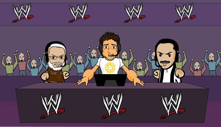 Shinchan WWE Entrance animation