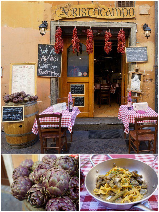 Where to eat in Trastevere, Rome Italy