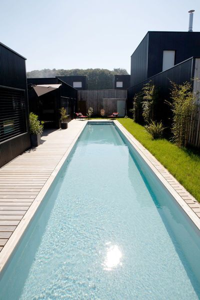 565 best Piscine chic - hors sol images on Pinterest Play areas - construire sa piscine beton
