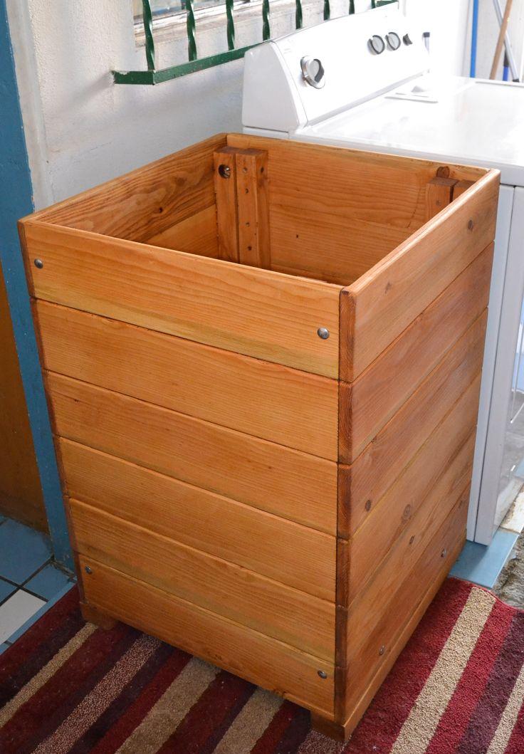 rustic wood laundry basket h&er for wooden laundry h&er furniture & Best 25+ Wooden laundry hamper ideas on Pinterest | Wooden laundry ... Aboutintivar.Com