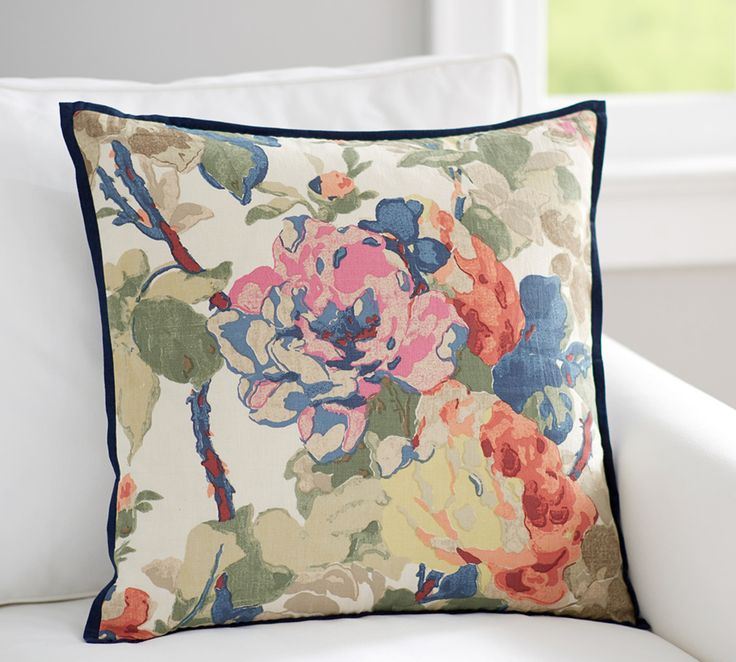 Charlotte Floral Print Cushion Cover
