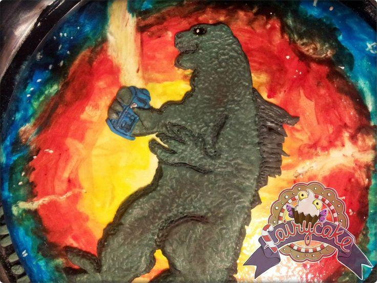 #DrWho meets #Godzilla