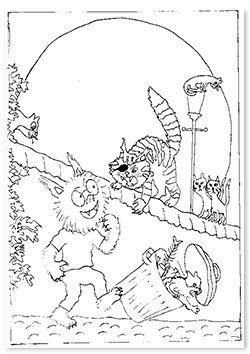 kleurplaat dolfje weerwolfje - Google zoeken