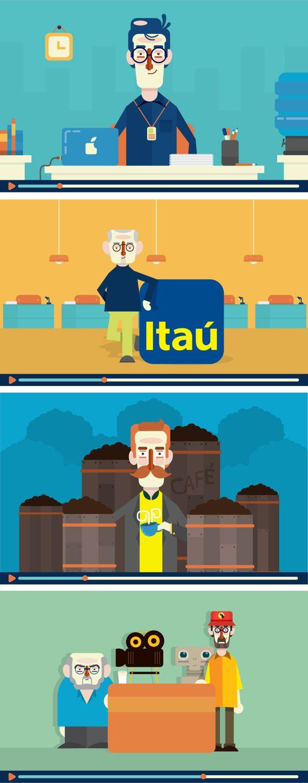 Bem-vindo ao Itaú - Vídeo on Behance