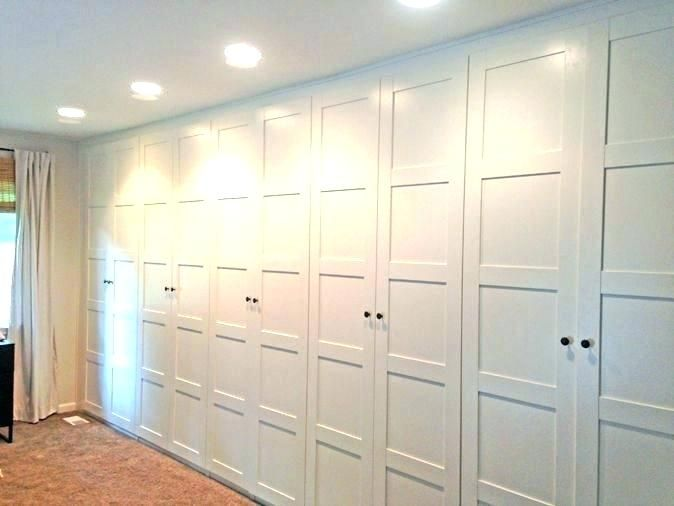 Angled Wall Closet Ideas Perfect Design Wall Closet Ideas Stylish Door That Add Style To T On Angled Wall Closet Ikea Pax Wardrobe Wardrobe Wall Build A Closet