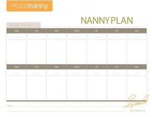 My Meal Plan/Grocery List Templates help make meal planning so much easier! Free printables on thefoodnanny.com