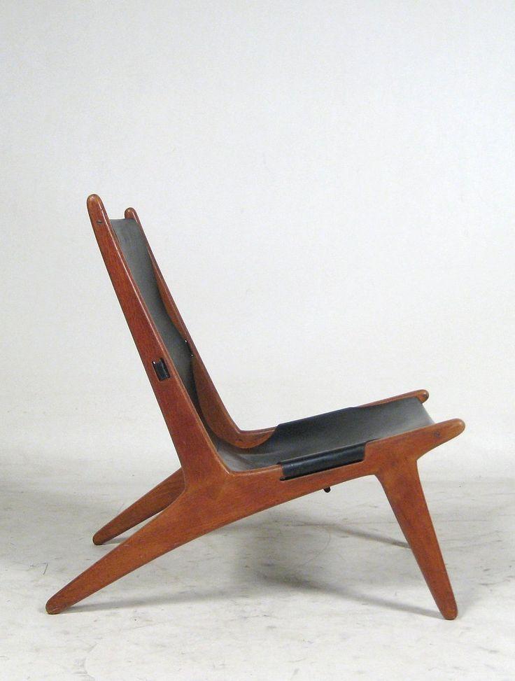 Uno & Östen Kristiansson Huntington Chair for Luxus Vittsjö