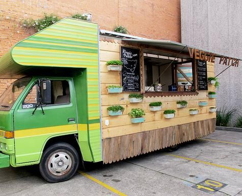 Vege Patch Van Two Gals From Sydney Designed This Oil Vegetarain Food That Has