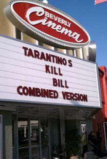 New Beverly Theater - Tarantino
