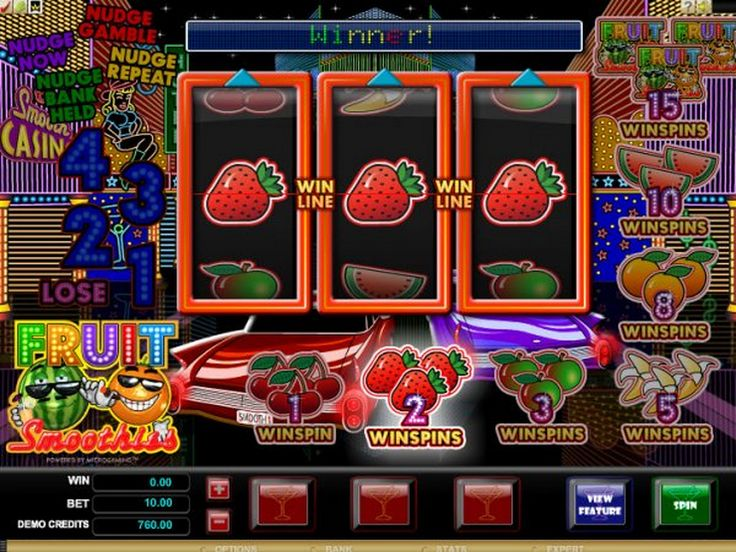 Play The Free Fruit Smoothies Slot Game With No Registration