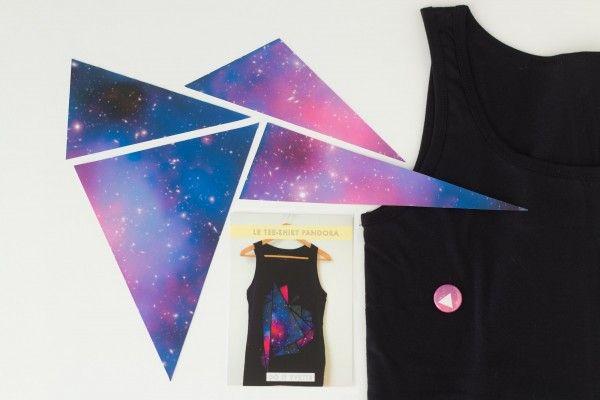 T-shirt Galaxie !