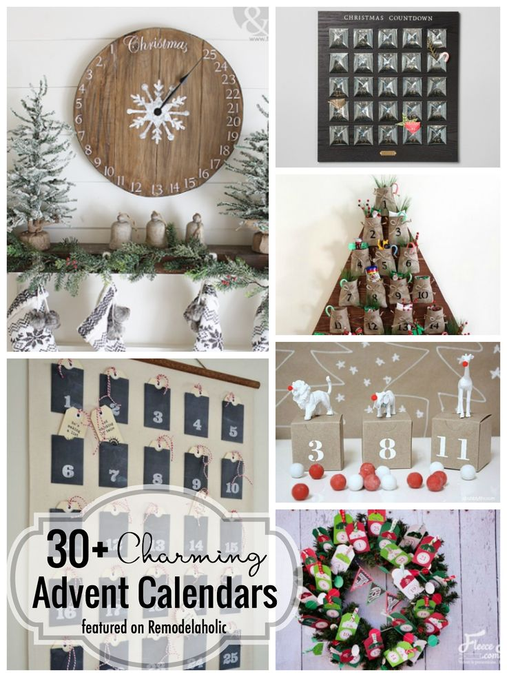 Advent calendars are a treasured tradition for many, and it's time to begin! Whether you want to buy or make, here are 25+ ideas for your Christmas countdown.